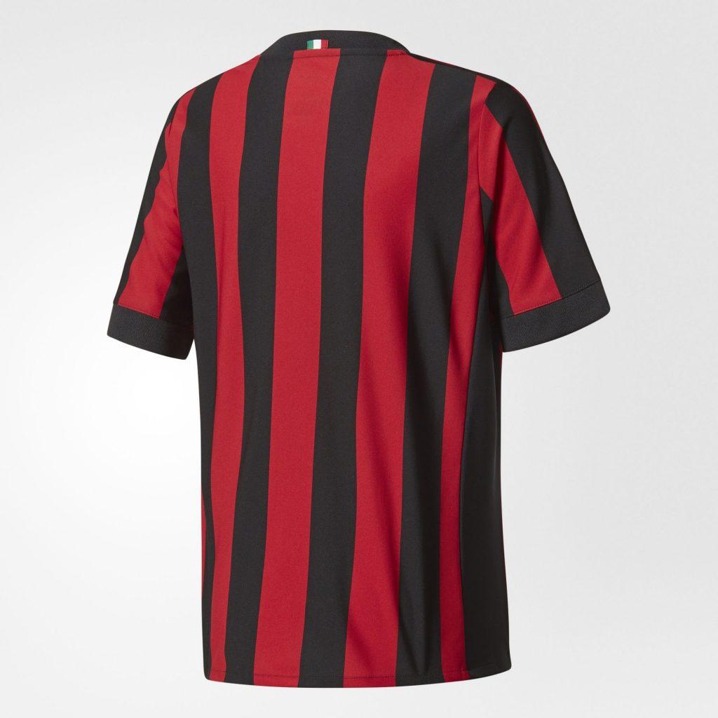Maillot adidas Milan AC Saison 2017/18