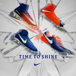 "Nike Football ""TIME TO SHINE"" Pack"