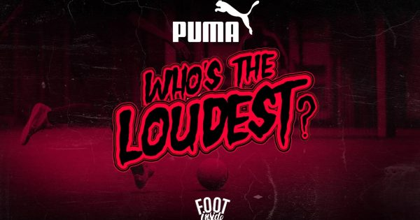 Puma Street Football Who's The Loudest