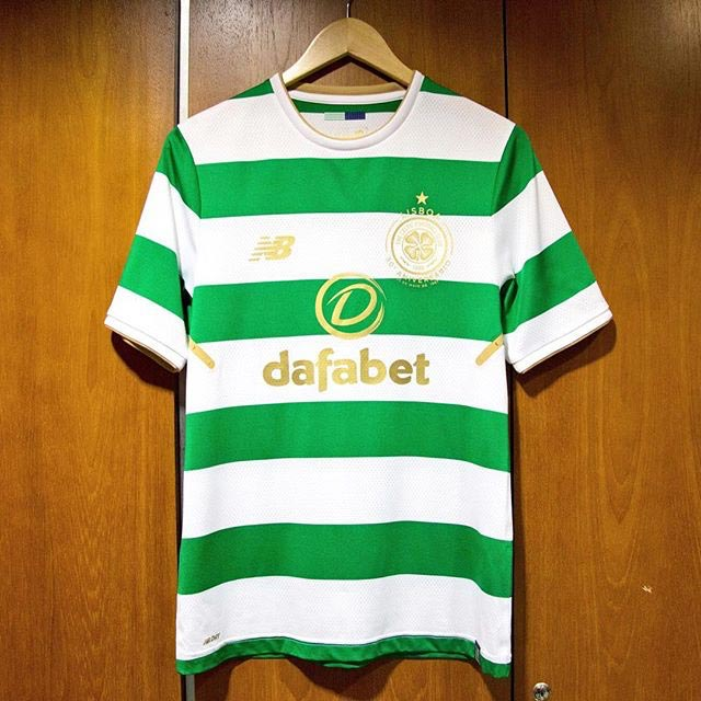 Shirt Home Kit Celtic FC 2017 2018