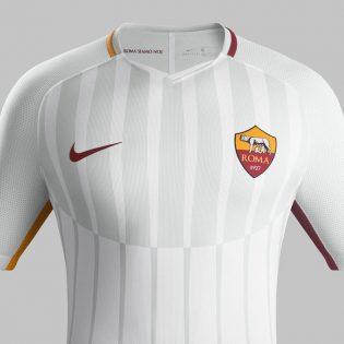 maillot extérieur AS Roma Saison 2017-2018
