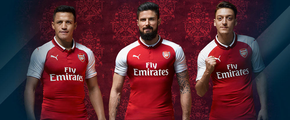 Home Kit Arsenal 2017-2018