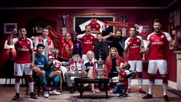Home Kit Arsenal WeAreTheArsenal