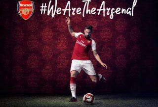 Le nouveau maillot domicile d'Arsenal dévoilé