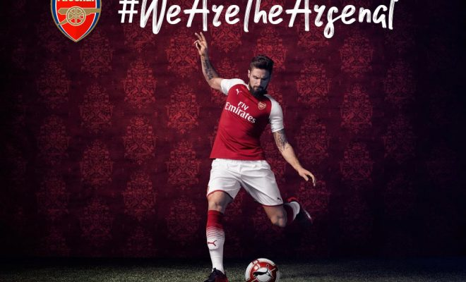 Maillot Arsenal 2017-2018