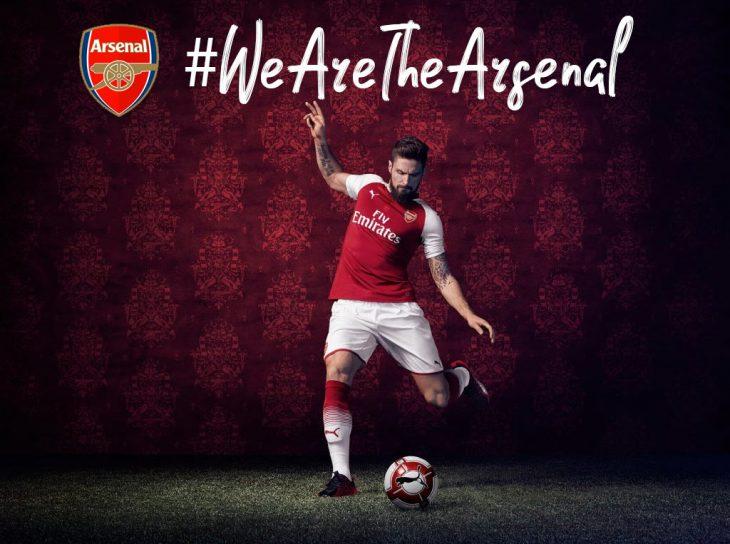 Maillot Arsenal 2017-2018