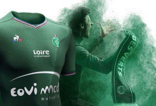 Les maillots de Saint-Etienne Saison 2017/18 dévoilés