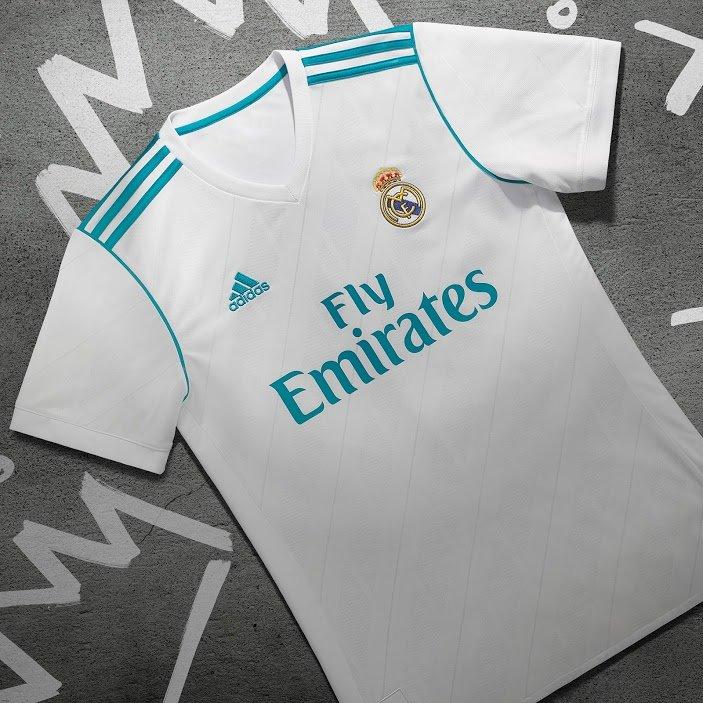 Maillot Domicile Real Madrid Tenue de match