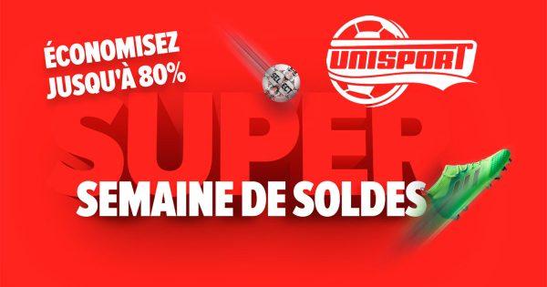 Unisport Soldes & Promotions