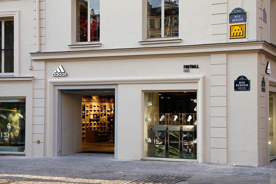 adidas ouvre un magasin dédié 100% au football à Paris
