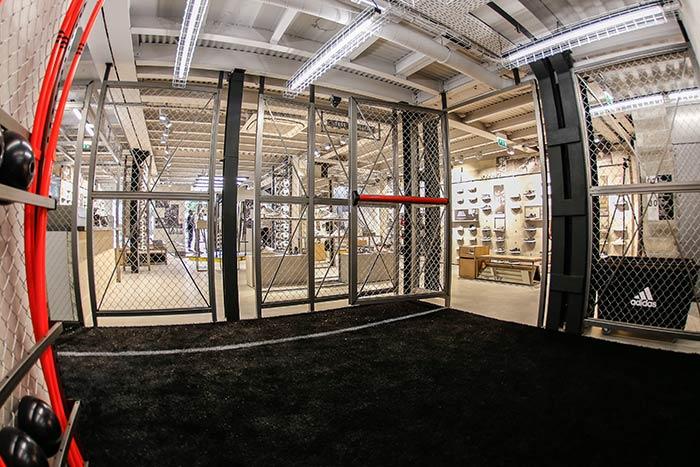 espace testing au adidas football store