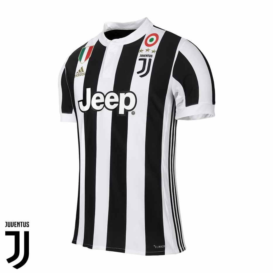 maillot domicile de la Juventus saison 2017-2018
