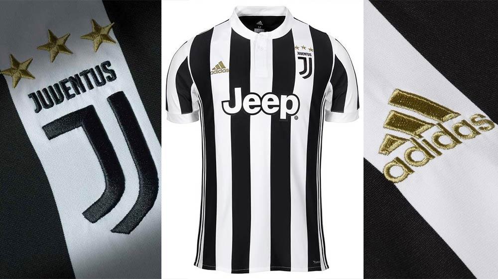 Nouveau maillot de la juventus de Turin en détails