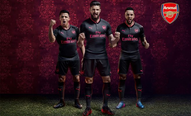 3eme Maillot Arsenal 2018
