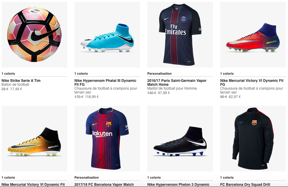 Code Promo Soldes Nike Football