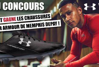Jeu Concours : Gagnez les chaussures Under Armour de Memphis Depay