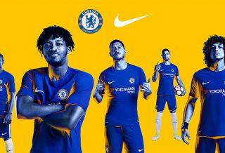 Les maillots Nike de Chelsea dévoilés - Saison 2017/18