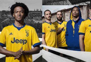Maillot Extérieur Jaune de la Juventus de Turin 2017/18