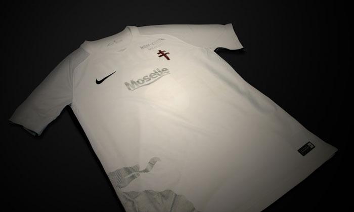 Tenue extérieure blanche du FC Metz 2018