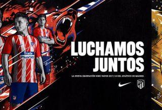 Les maillots de l'Atletico Madrid pour la saison 2017-2018