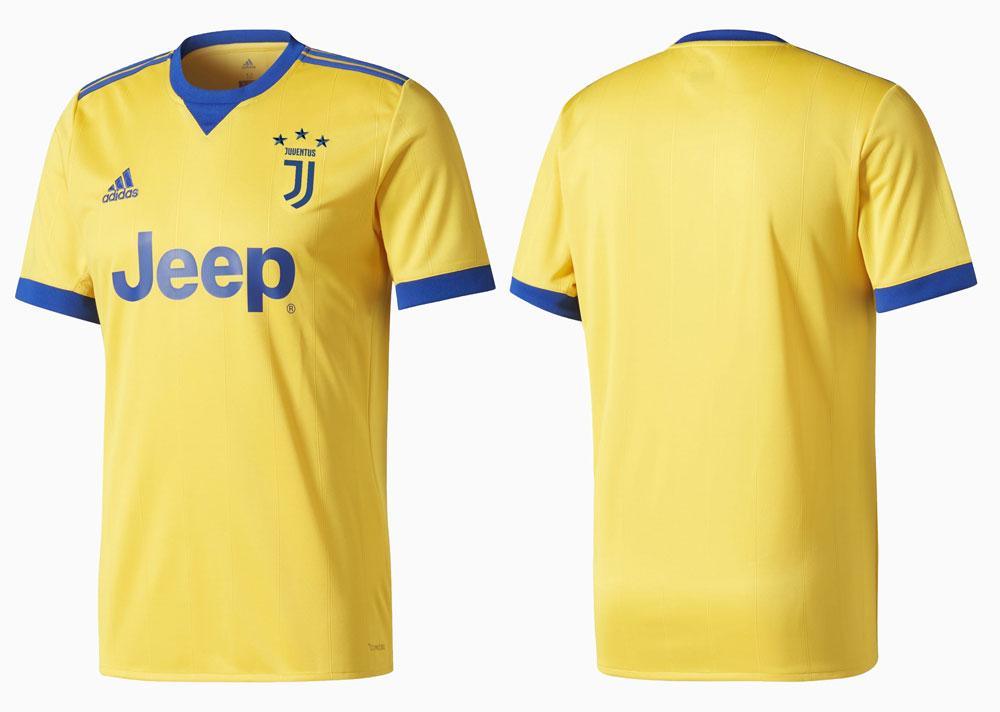 Maillot Juventus Away 2017-2018