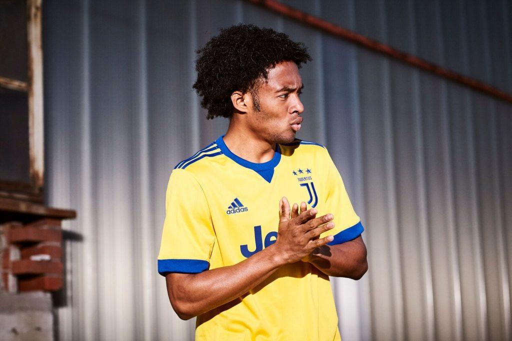 Maillot Juventus Away Jaune 2017-2018