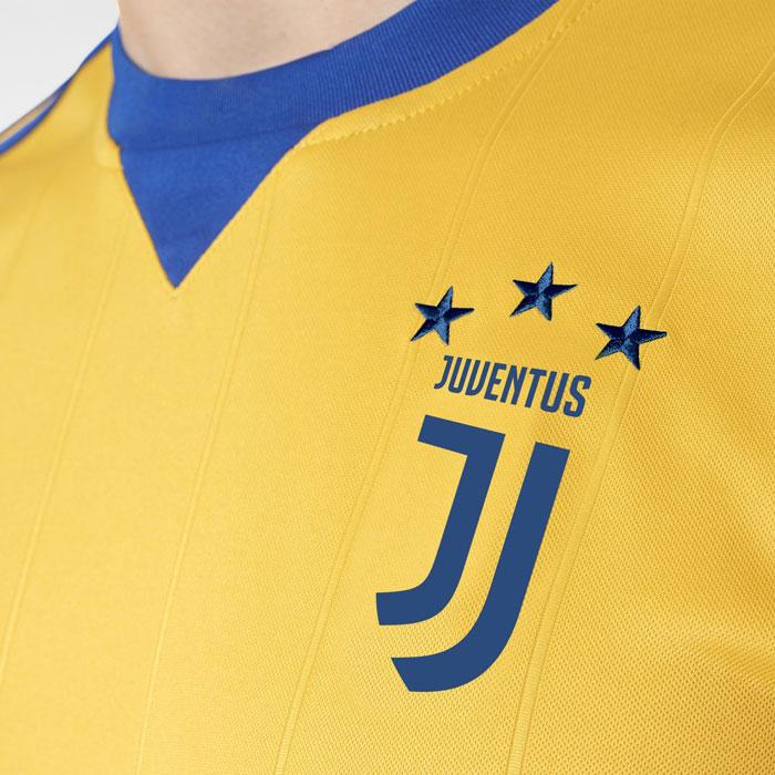 Tenue extérieure jaune Juventus Turin 2018