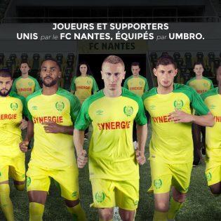 Les maillots du FC Nantes pour la saison 2017-2018