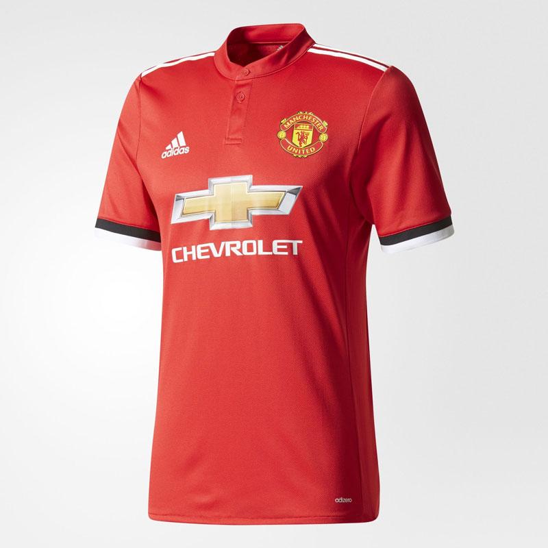 Le maillot domicile de manchester united 2017 18 foot inside for Manchester united exterieur 2017