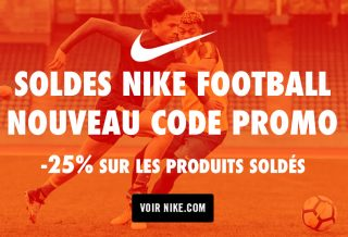 Soldes Nike Football Code Promo
