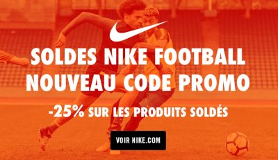 Soldes Nike Football Code Promo