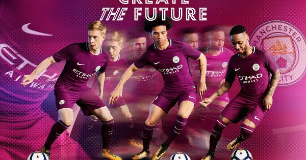 maillot football Away Manchester City 2018