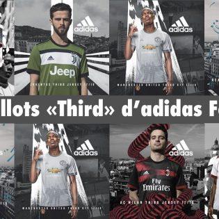 adidas football dévoile les 3ème maillots saison 2018