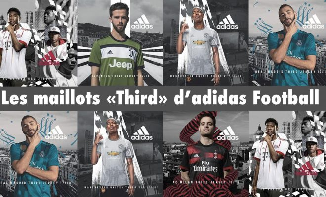 Maillot de Football adidas Third 2018