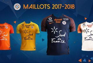 Les maillots Nike de Montpellier MHSC pour la saison 2017/18