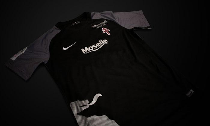 """Troisième maillot """"Third"""" du FC Metz 2018"""