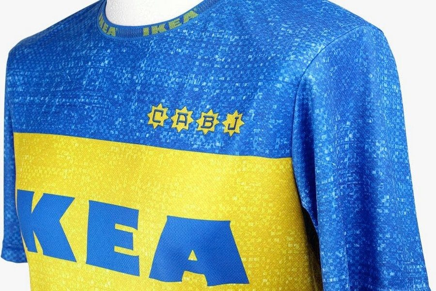 maillot football IKEA Frakta x Boca Juniors X Fokohaela