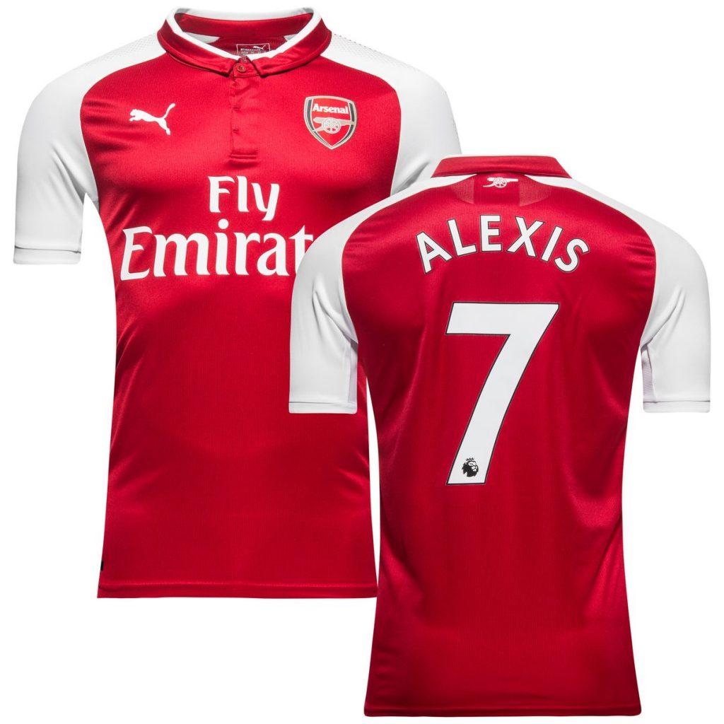 Maillot Alexis Sanchez Arsenal
