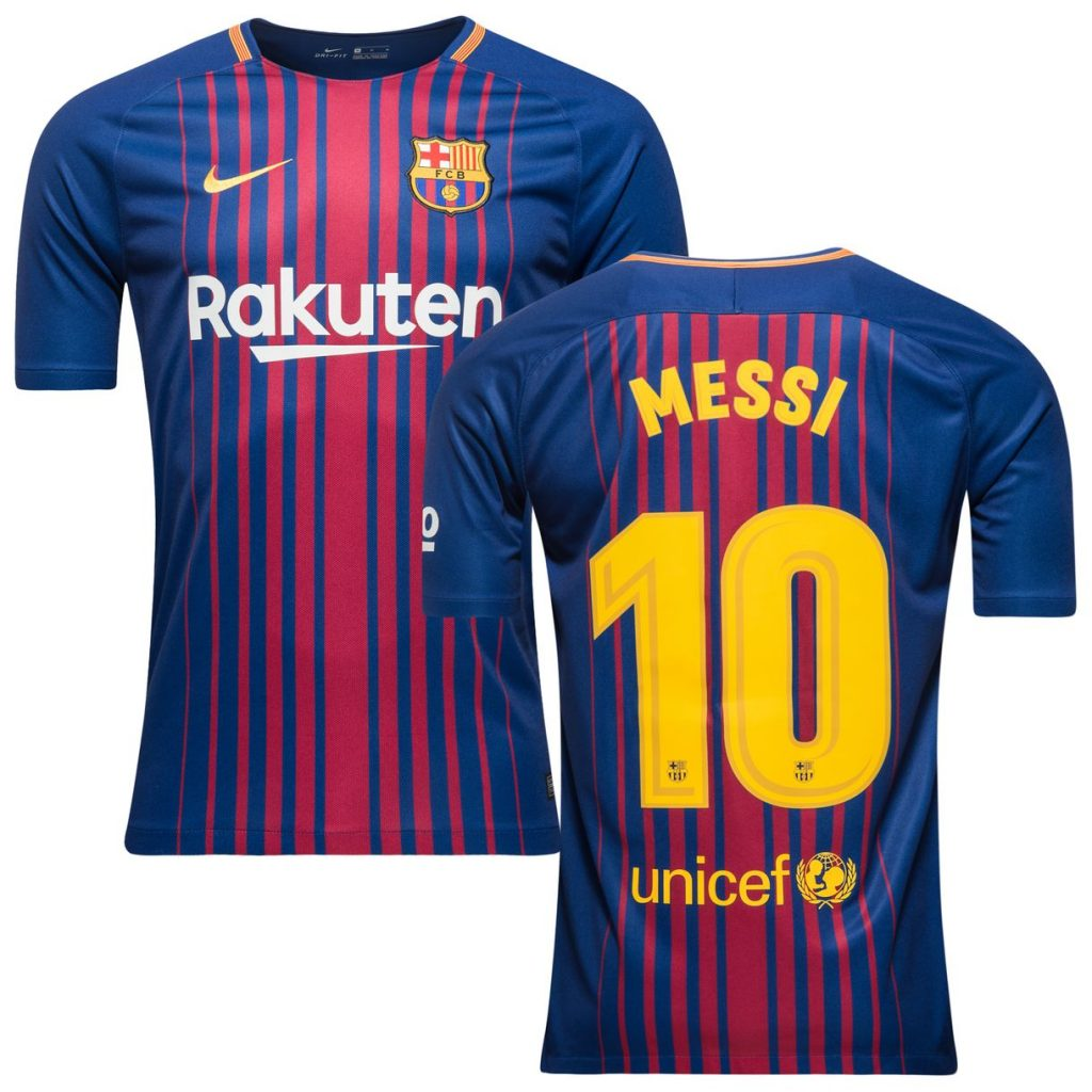 Maillot FC Barcelone 2017-18 Messi 10