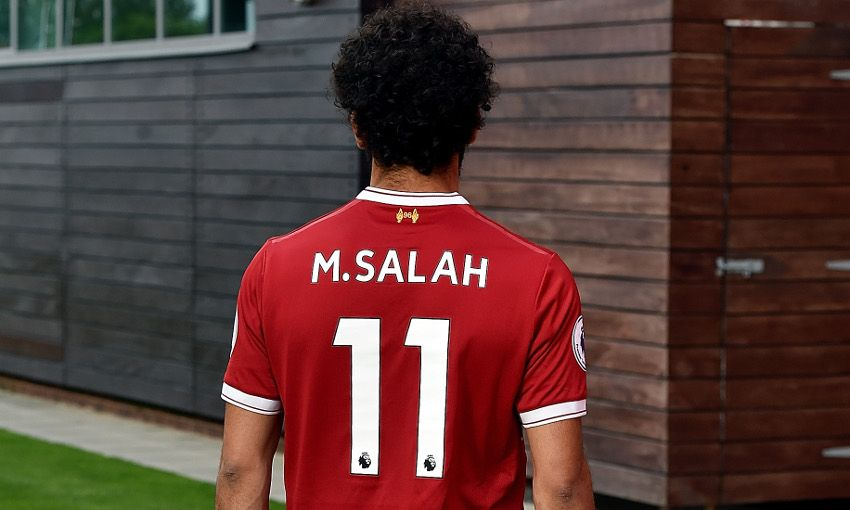 Maillot mohammed Salah 11 Liverpool FC