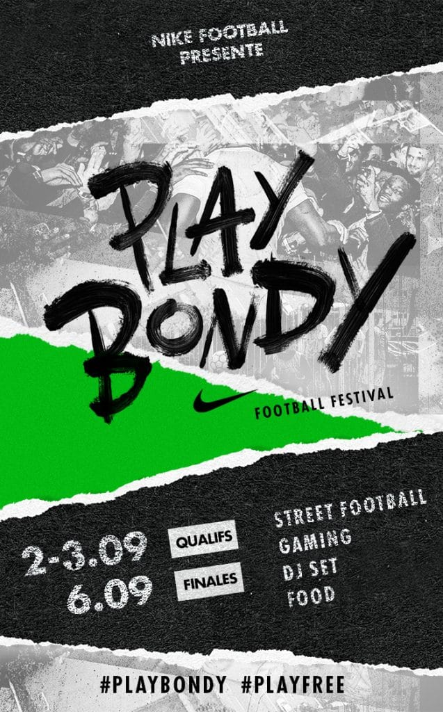 Nike Football Play Bondy Festival