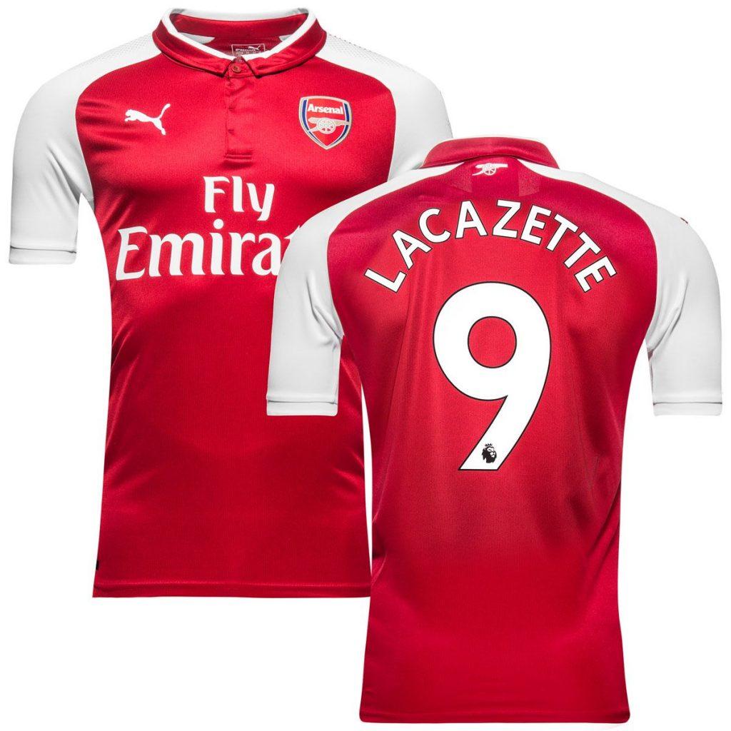 Top 10 Maillot Lacazette Arsenal
