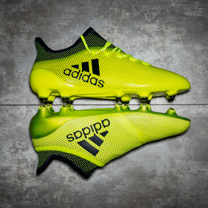 chaussure football adidas X17+ Purespeed Ocean Storm