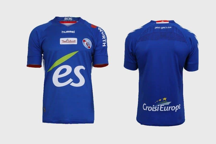 maillot domicile RC Strasbourg Alsace hummel