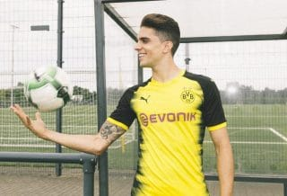 maillot football Borussia Dortmund 2017-2018 Champions League