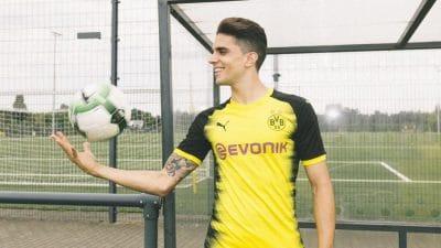 maillot football Borussia Dortmund 2017-2018 Champions League