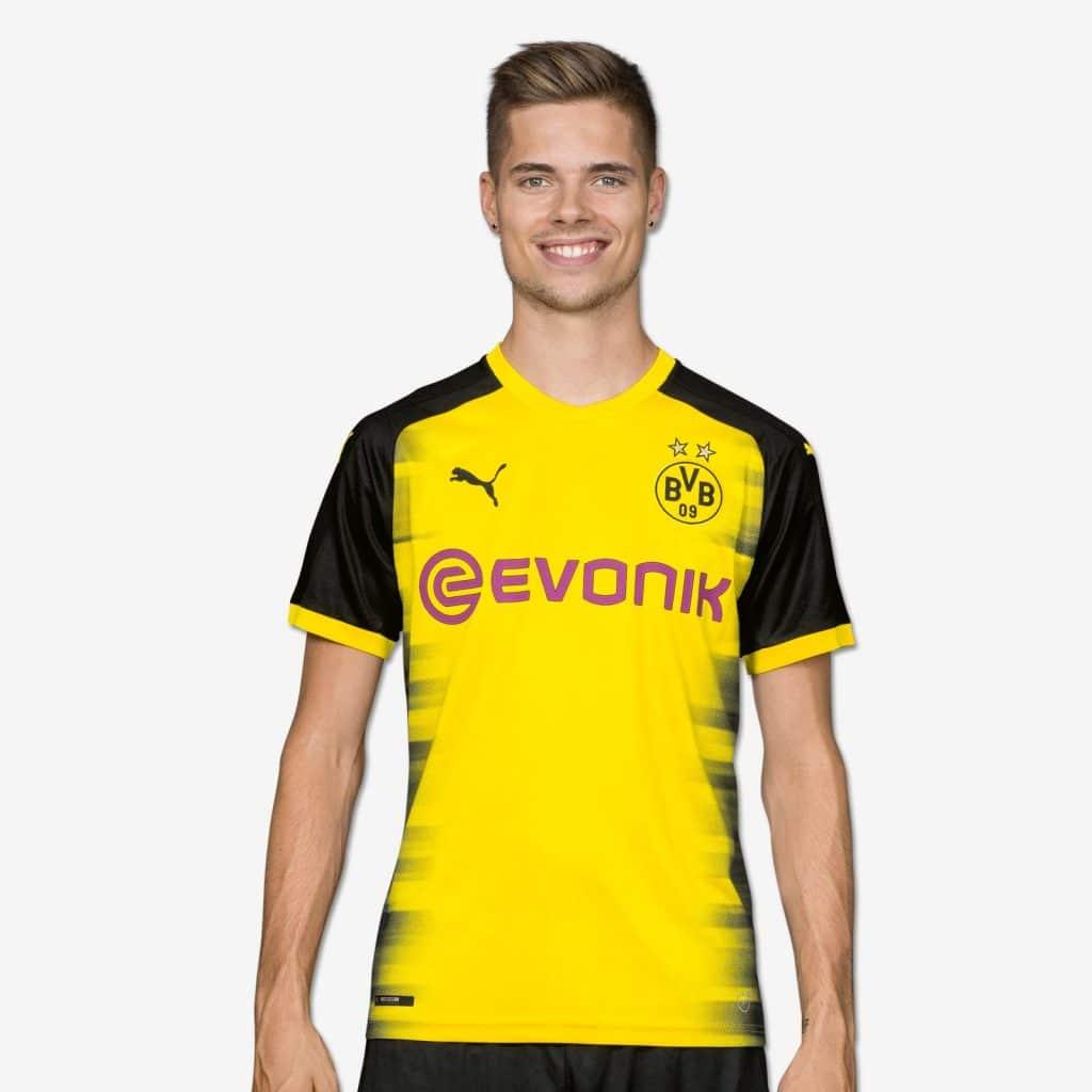 maillot puma Borussia Dortmund 2017-2018 ligue des champions