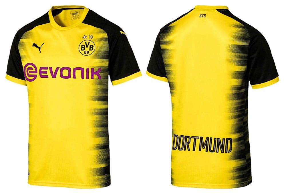 maillot Borussia Dortmund 2017-2018 ligue des champions