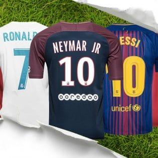 Le top 10 des joueurs qui ont vendu le plus de maillots en 2017-2018