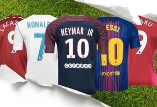 Le top 10 des joueurs qui ont vendu le plus de maillots en 2018